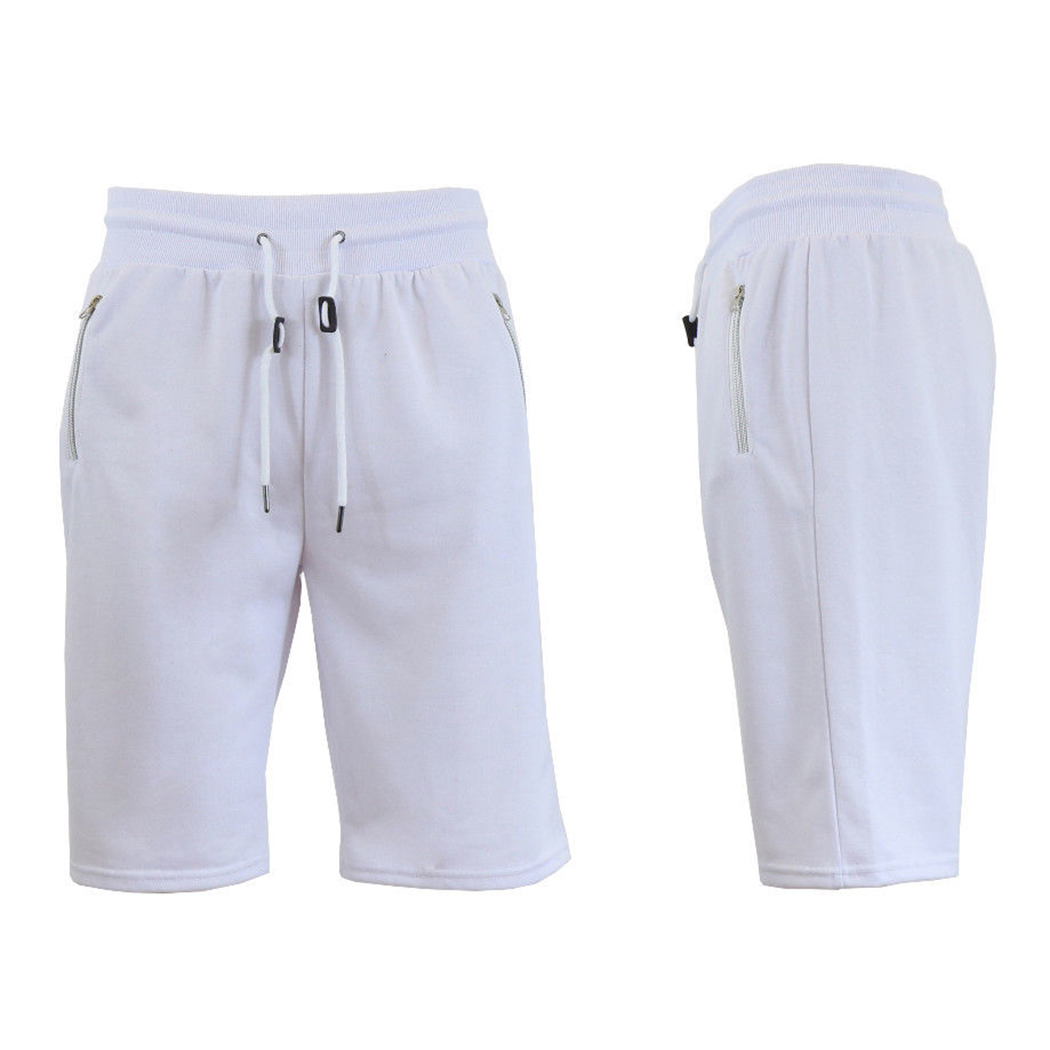 2018 Summer Casual Cotton Men Shorts Fashion Hight Waist Zipper Pockets Beach Shorts Male Loose Fitness Joggers Short Homme