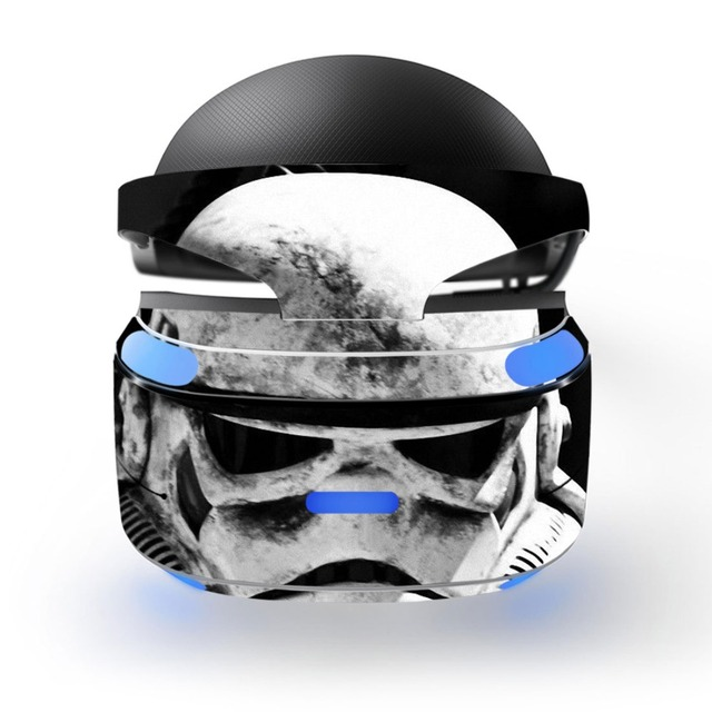 Star Wars Removable Vinyl Decal Skin Sticker Cover Protector for Playstation VR PS VR PSVR Protection Film Skin Sticker