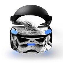 Star Wars çıkarılabilir vinil çıkartması kapak kaplama çıkartması koruyucu Playstation VR PS VR PSVR koruma filmi cilt Sticker