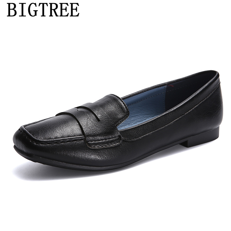 leather shoes women womens loafers shoes flats women 2019 harajuku shoes creepers slip on tenis feminino casual zapatillas mujerleather shoes women womens loafers shoes flats women 2019 harajuku shoes creepers slip on tenis feminino casual zapatillas mujer
