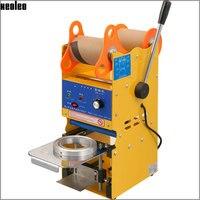 Xeoleo Manuale Tazza sigillante per 9/9. 5 cm PE/PP/Carta per Caffè/Latte/latte Di Soia tazza di tè della Bolla macchina Manuale Coppa sigillatrice US/EU/UK