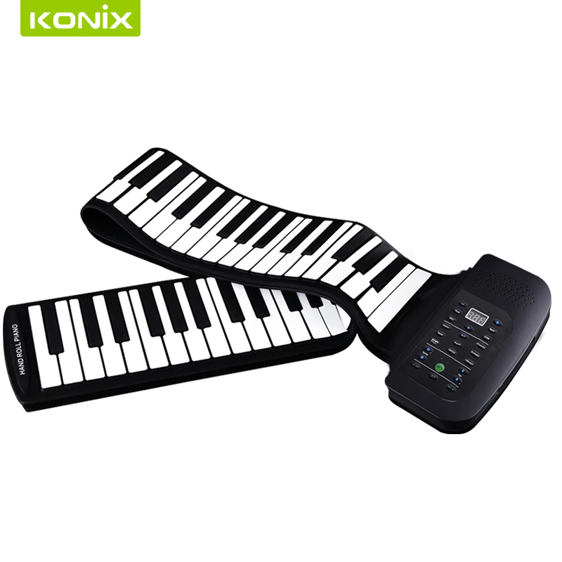 88 Tipke Fleksibilni silicijum Klavir s MIDI i zvučničkim - Glazbeni instrumenti - Foto 4