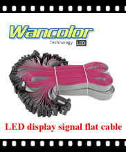free shipping DIY LED display 16cm Long Flat Wire/ Hub Cable for LED Display, LED Screen Accessories(20pcs)