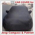 De Calidad superior Del Coche Cubre para Jeep Patriot Brújula Camuflaje A Prueba de UV A Prueba de agua Cubierta de Plata Negro para Los Coches