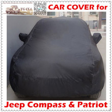 Top Quality Car Covers for Jeep Compass Patriot Waterproof UV-Proof Camouflage Silver Black Cover for Cars