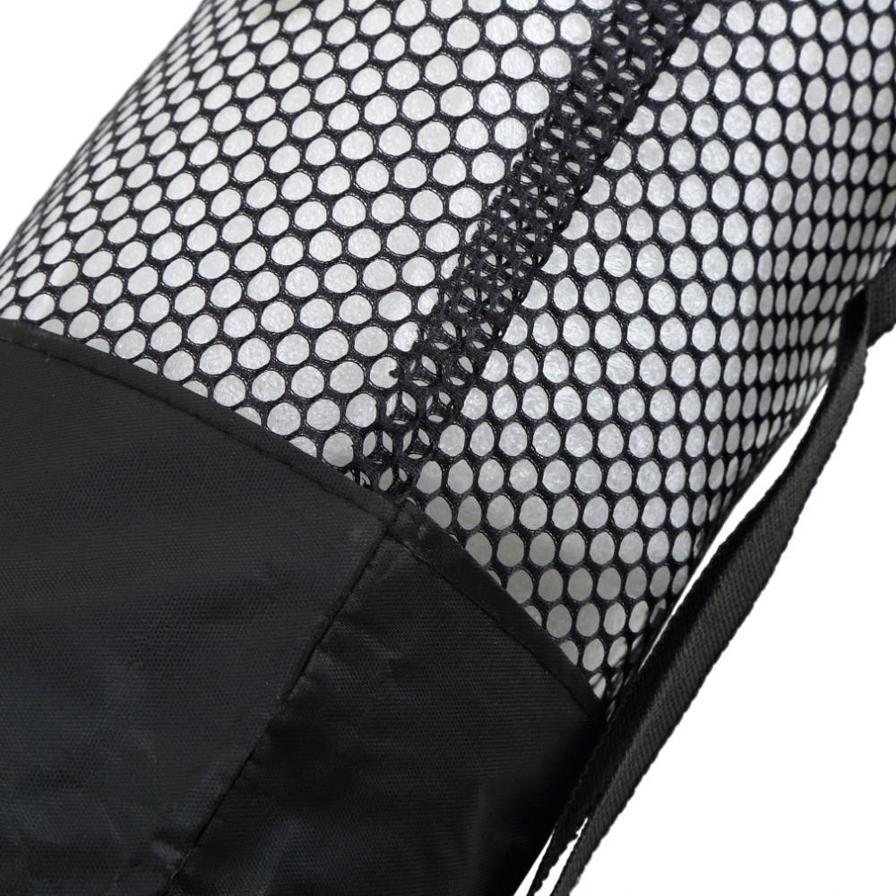 2016 torba mochila yoga popularne przenośne yoga mat beautity polyester nylon mesh czarny plecak dla zdrowia sport 9