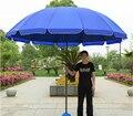 Outdoor Large umbrella / silver glue coating/ Antifouling/ Rugged/ Wind resistance/ waterproof/ Beach umbrella/tb151102