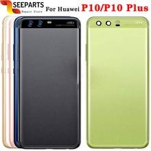 """Dla Huawei P10 powrót przypadku baterii tylne drzwi obudowa pokrywy skrzynka dla 5.1 """"dla Huawei p10 Plus pokrywa baterii Panel wymiana"""