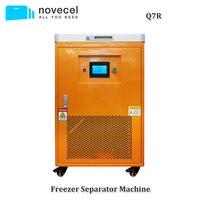 Novecel Q7R 220 В 60 Гц 185 градусов ЖК экран морозильник сепаратор для samsung Edge OLED стекло разделение Ремонт Замена