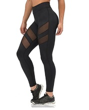 Yoga Pants Women Tights Leggings Women's Mesh Stretchy Workout Sports Yoga Leggings