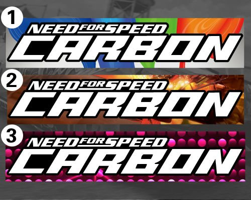 2014 Real Limited Car Styling Need For Speed Carbon Logo Vinyl Ink Jet Printing Stickers