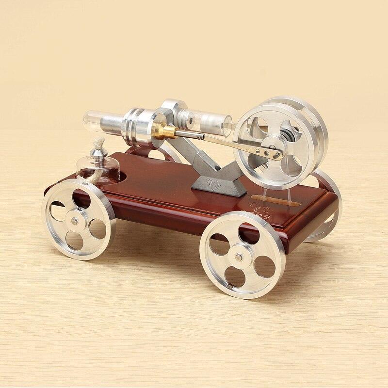Nouveau Moteur De Voiture Modèle Du Moteur Stirling Modèle Kit Pour Modèle D'apprentissage Éducatifs Science Modèle Jouet Cadeau Pour Enfant Enfants