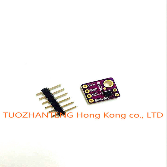 Free shipping 1PCS/LOT SHT31 Temperature & SHT31-D Humidity Sensor module Breakout Weather for Arduino