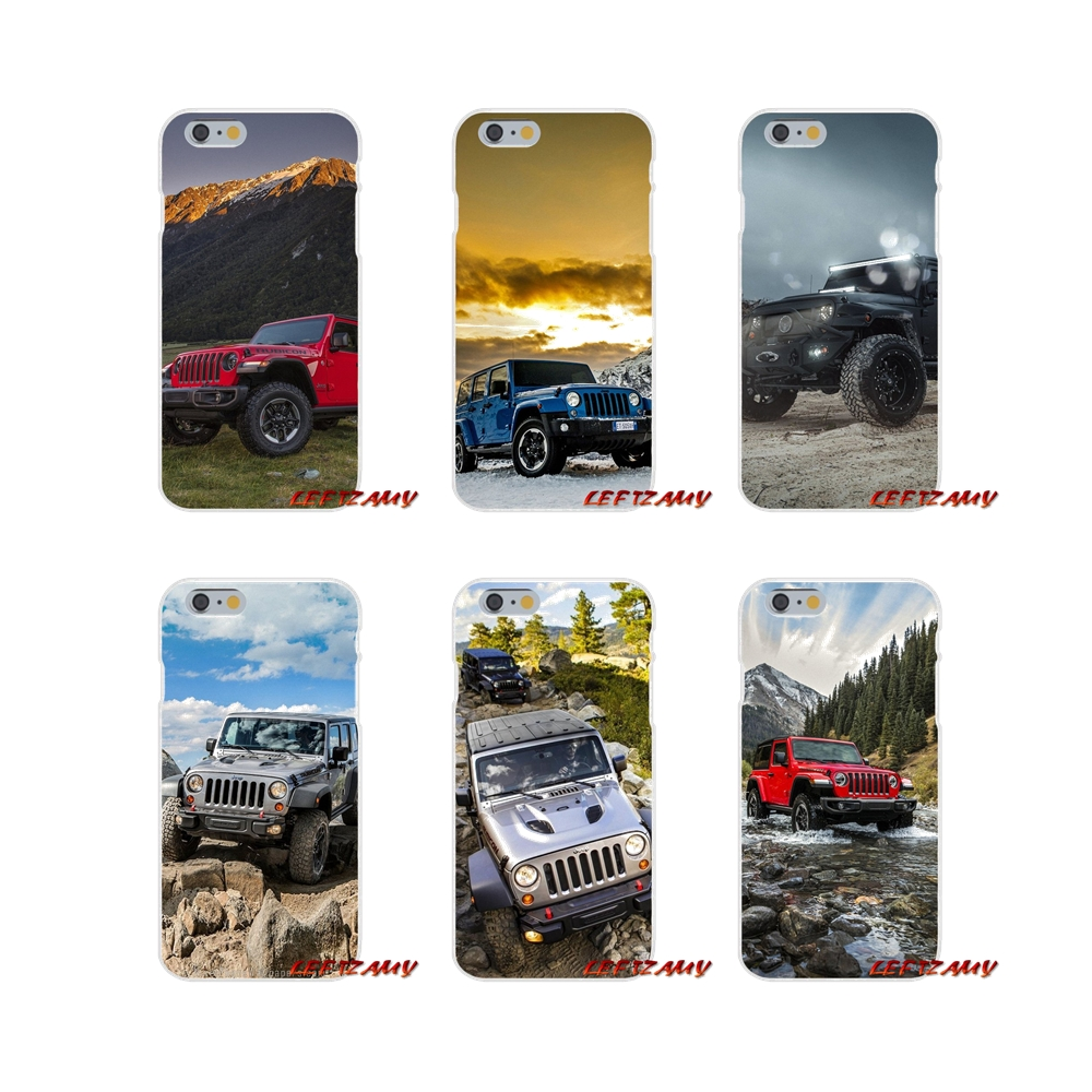 Us 0 99 For Iphone X Xr Xs Max 4 4s 5 5s 5c Se 6 6s 7 8 Plus Accessories Phone Shell Covers Jeeps Wrangler In Half Wrapped Cases From Cellphones