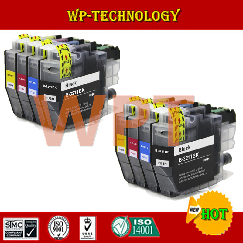 Compatible ink cartridge For Brother LC3211 suit For Brother DCP-J772DW DCP-J774DW MFC-J890DW MFC-J895DW printer full ink