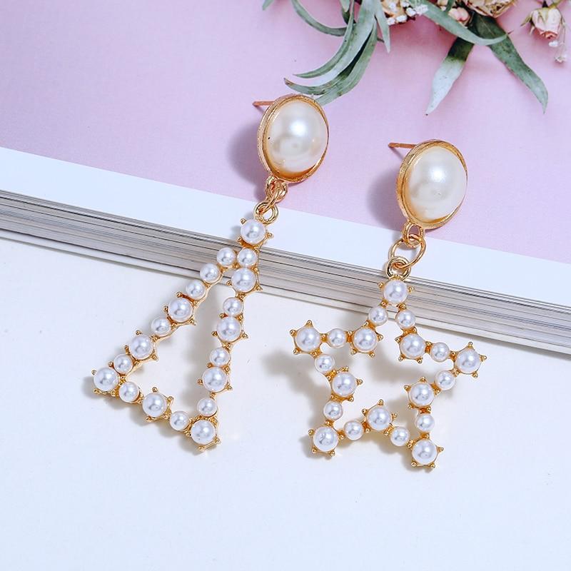 Pearl Drop Earrings (5)
