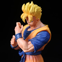 цена на 22cm Dragon Ball Z Goku Action Figure PVC Collection Model toys brinquedos for christmas gift have the base