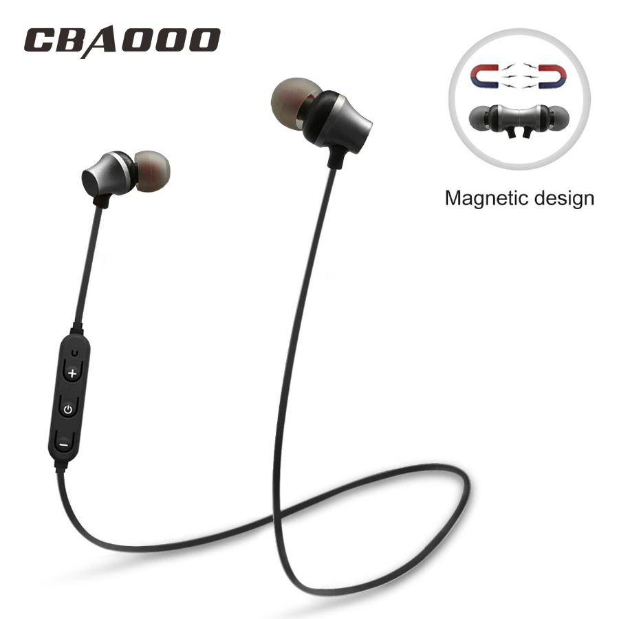CBAOOO S10 Magnetic Switch Sports Wireless Bluetooth Earphones Bass swearproof running headset gamer earbuds with MIC magnetic switch earphones sports running wireless earbuds bass bluetooth headsets in ear with mic for running fitness exercise