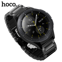 HOCO Stainless Steel Band for Samsung Galaxy Watch 42mm Band Metal Wrist Belt for Huami Amazfit Bip Smart Watch Wrist Strap 20mm