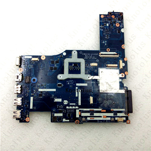 LA A192P 11S10250064 For Lenovo ideapad G510s laptop motherboard VIWG3 G4 HM86 GMA HD4400 DDR3 Free Shipping 100 test ok in Laptop Docking Stations from Computer Office