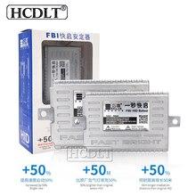 HCDLT 55 Вт электронный блок ксеноновой фары 1 секунда быстрого запуска автомобиля свет AC 12 В ксеноновый балластный реактор для 55 Вт ксеноновые лампы комплект ксеноновых фар