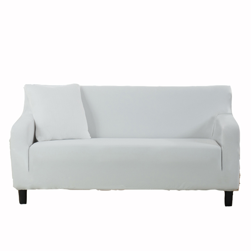 White Couch Sofa Covers Removable Elastic Corner Sofa Slipcovers Polyester  Knitted Cover For A Sofa Stretch