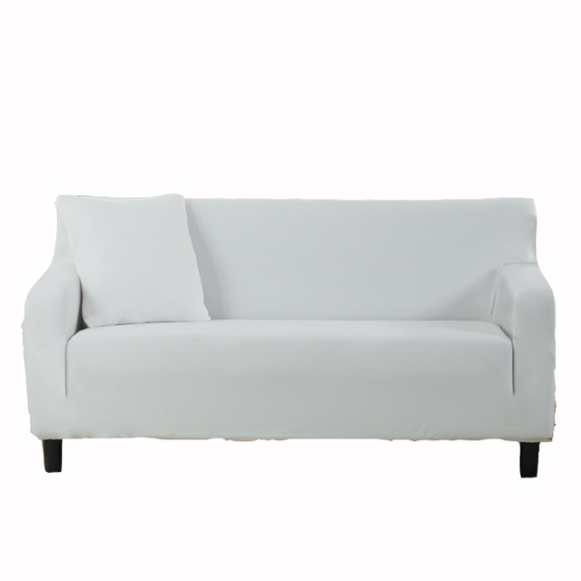 White couch sofa covers removable elastic corner sofa slipcovers