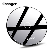 Essager QI Wireless Charger for iPhone Xs Xiaomi mi 9 10W Fast Wirless Charging Pad For Samsung S10 S9 Wireles