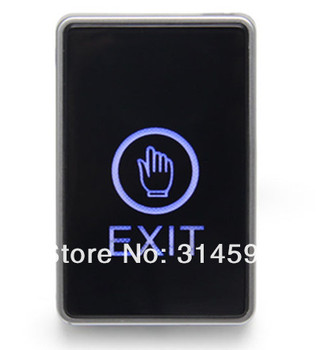 Touch screen Exit switch & push button switch for access control system