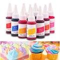 1pc 30ml Essbare Pigment Gesunde Sparen Lebensmittel Färbung für Kuchen Cupcake Muffin Macaron Creme Färbung Werkzeug Backen