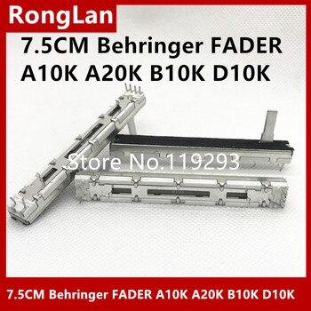 7.5 cm 75mm behringer 1622 bolso soundcraft duplo folio-4 misturador duplex potenciômetro interruptor d10k a10k a20k b10k branco 15mmc-10p
