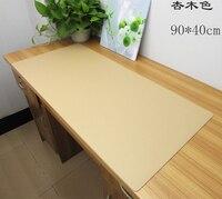 Wholesale 90 40CM PU Leather Business Office Desk Mat Computer Desk Pad