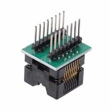 SOP16 к DIP16 IC Разъем SOP16 отложным воротником DIP16 программатор адаптер 150 мил записи сиденье