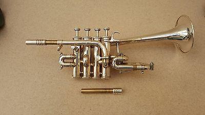 Ongebruikt Thein Bb/Een Lange Bell Piccolo Trompet in Thein Bb/Een Lange Bell PT-83