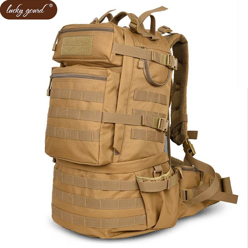 Large Military Backpacks Men Backpack Multi function Camouflage Waterproof Nylon Bag 2019 Free Shipping D250