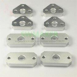 Çoğaltıcı Flashfoge/CTC yükseltme CNC alüminyum X/Y eksen 8mm çubuklar kılavuz halka genişletilmiş kılavuz halka kiti