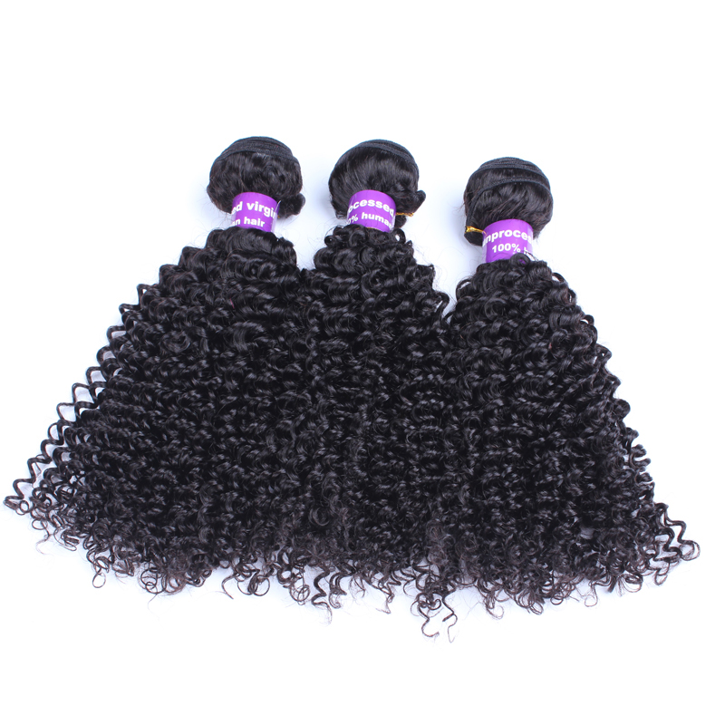 Kinky Curly Brazilian Hair Weave Bundles Deals 3 Pieces 100% Human Hair Extension Remy Honey Queen Hair Products Natural Color