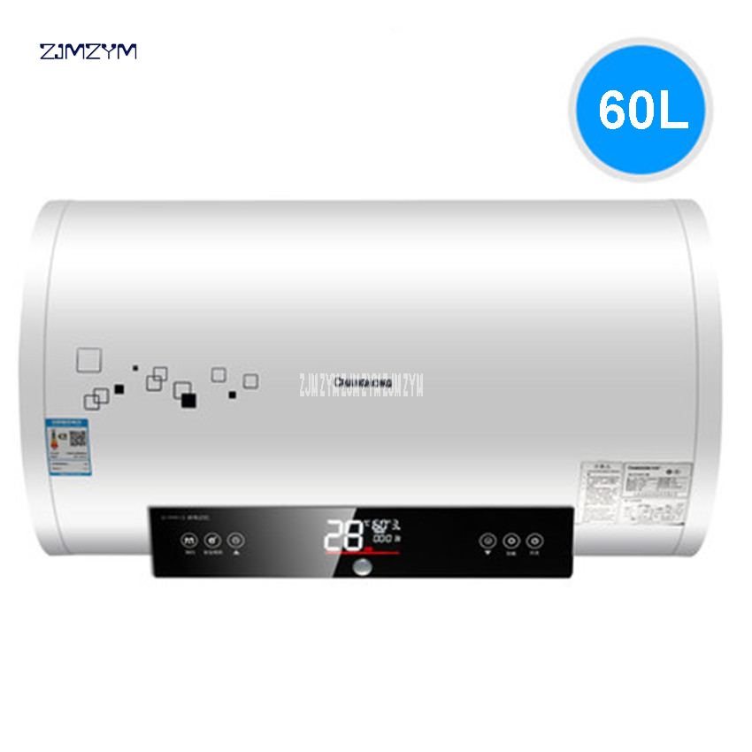 ZSDF-Y60D34S Electric Water Heater Hot Kitchen Adjustable Temperature Digital Display Water Storage 60L Electric Water Heaters