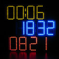 Оптовая Цена Большой Экран Удаленного Часы Электронные DIY Kit Алюминиевая Крышка и Акриловый щит 3 цветов на складе
