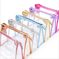 2017 New Portable Clear Travel Toiletry Beauty Makeup Holder Cosmetic Bags Storage Organizer Travel Bag Top Quality S505