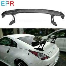 Для Nissan 350Z Z33 задний багажник из углеродного волокна GT Спойлер(150 см) Широкий обвес автомобиля Стайлинг авто тюнинг часть для 350Z INGS заднее крыло