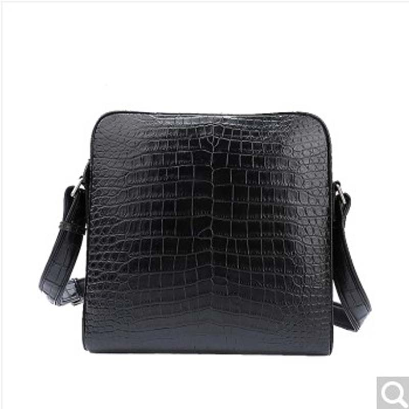 feikebeike 2018 crocodile new imported Thai real Alligator skin men's shoulder bag cross-bag  high-end air quality products yuanyu new alligator long female bag real crocodile leather high end imported large women clutches