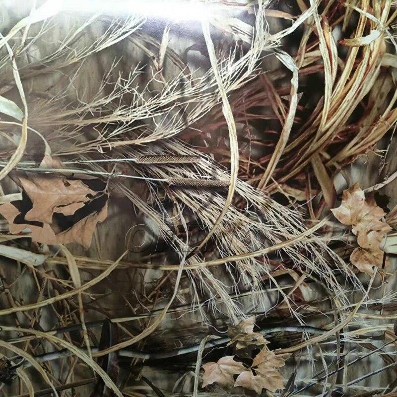 Sombra Grama Realtree Camuflagem Vinyl Film Enrole Com Bolha de Ar Livre Adesivo de Carro Styling Motorbike Decal Adesivo de Carro Wrapping - 4