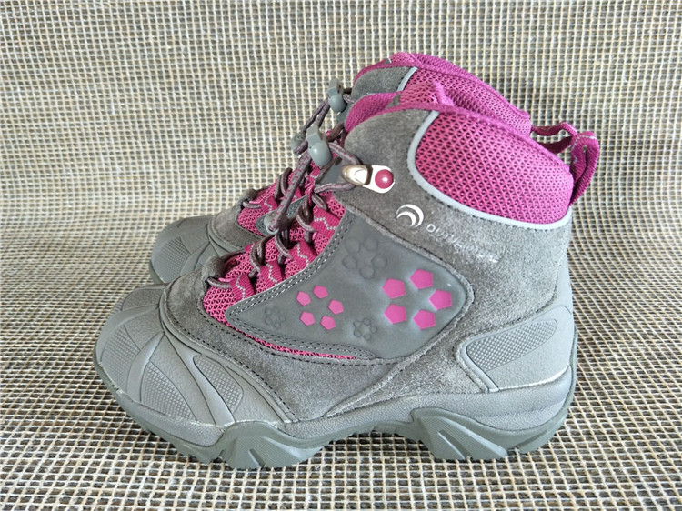 Outventure Girls winter hiking shoes children waterproof anti-hit toe walking sneakers girls skiing boots Thermolite for-30C