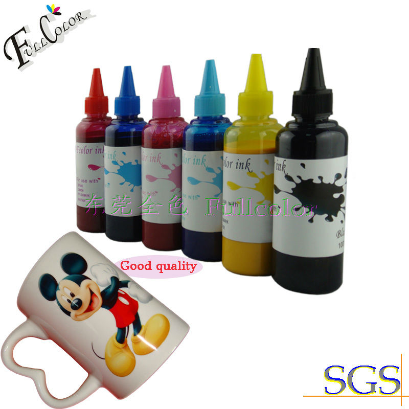 Free Shipping CISS IC50 Refill Sublimation Ink for IC50BK IC50C IC50M IC50Y IC50LC IC50LM Bottle Refill Ink Kits free shipping 5 color set refill bottle ink and refillable cartridge with chip for mg5460 ip7260 printer ink refill kits