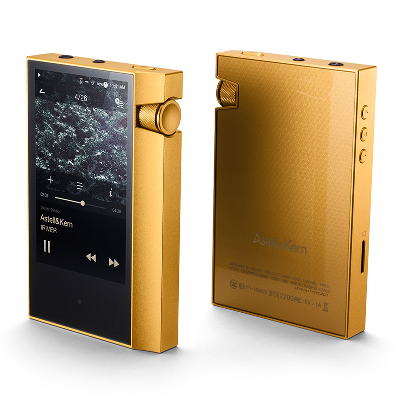 Originale IRIVER Astell & Kern AK70 Hifi Lettore Portatile DSD DAP bluetooth Audio musica MP3 Lettore Lossless Regalo In Pelle caso
