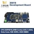 ARM Cortex-A53 Octa Core X6818 Development Board S5P6818 1G DDR3 8G EMMC+ 7 Inch Capacitive LCD