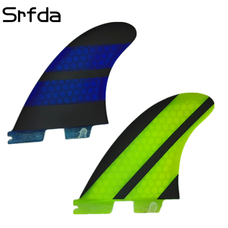 Surfing & Diving Srfda High Quality Fcs Ii Fins With Fiberglass Honey Comb Material For Surfing Size M Surfboard Fins Surf Table Fcs 2 Fin Special Buy Water Sports