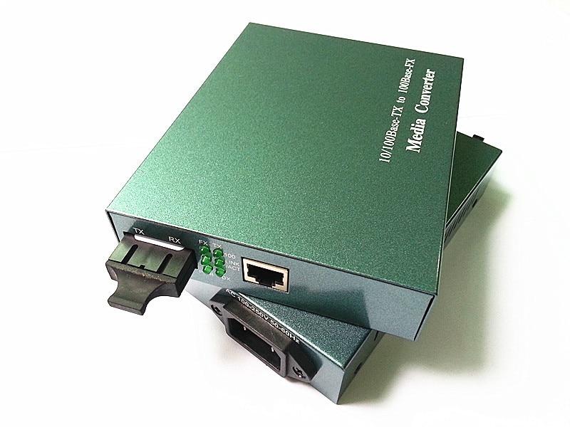 Једносмерни оптички примопредајник 10 / 100М на Етхернет РЈ45 ТЦП / ИП 25КМ претварач
