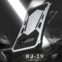 Military Grade Full Protector Case For Samsung Galaxy S10 5G S10+ Plus Armor Hard Cover Metal+Silicone Shockproof Outdoor Sports